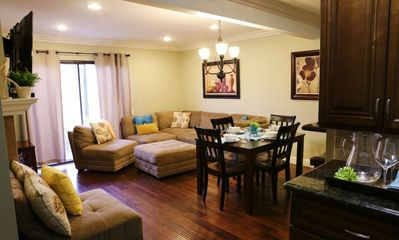 Family Room & Dining Area