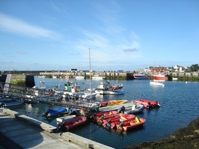 Photo for Beautiful apartment overlooking the port of Lesconil