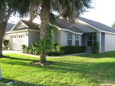 Photo for GAMEROOM, BBQ GRILL, FREE WIFI, ONLY MINUTES FROM DISNEY!!