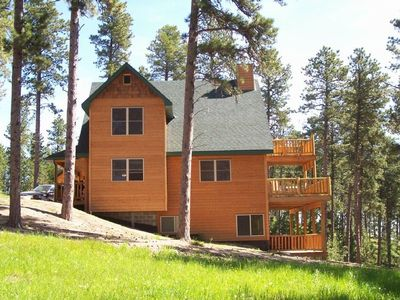 Photo for Beautiful Black Hills Cabin (Big Sky) Vacation, Golf, Sightsee ~ Near Deadwood