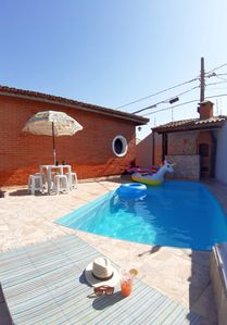 Photo for Cozy house 400 meters from the beach of Cibratel 2 in Itanhaém