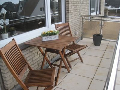 Photo for Close to the beach apartment with a fantastic roof terrace and south-west location