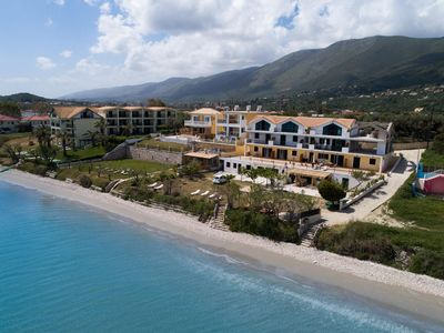 Photo for Mare Nostrum ,beachfront with 2 bedrooms,appartment