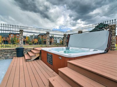 Photo for NEW! Dillon Condo w/ Hot Tub - 10 Mins to Skiing!