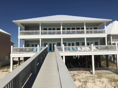 Photo for AVAILABLE: June 1-8; Beachfront Luxury Home with Elevator