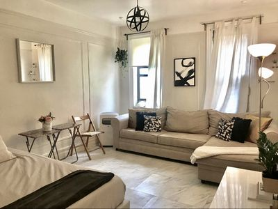 Photo for BRIGHT NYC MODERN APARTMENT ACROSS FROM PARK