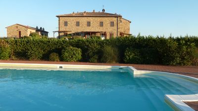 Photo for Apartment in Beautifully Restored Medieval Tuscan Village, 7klm from Volterra
