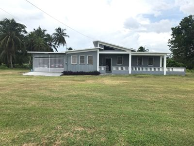 Photo for Newly renovated house 1/4 Mile from the Caribean Sea on 10 acres of tropical