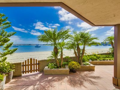 Photo for Right on the Beach! Newly Remodeled 2BR/2BA Bayfront. Perfect for Families.