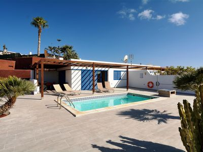 Photo for Villa Valentina Private Heated Pool 500 meters from the Sea ,Lanzarote
