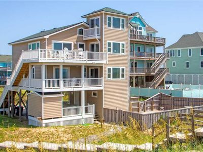 Photo for Easy Beach Access w/ Boardwalk! Oceanfront- Pool, Hot Tub, Game Rm, Dog-Friendly