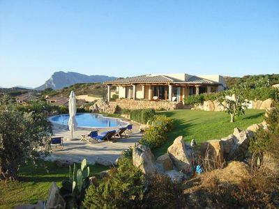 Photo for 5BR Villa Vacation Rental in Capo Coda Cavallo, Sardinia
