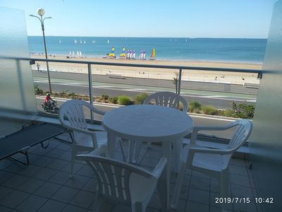 Photo for Studio cabin for 4 people, sea view, La Baule center, renovated