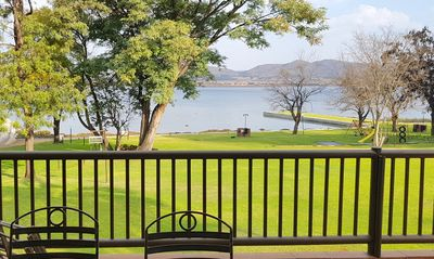 Photo for Tranquil Apartment,Hartbeespoort dam waterfront