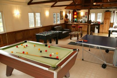 games room. (limited heating)