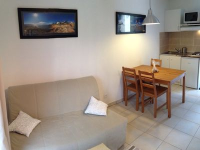 Photo for Furnished Studio-Cottage, 4 people at 900m from the Beach