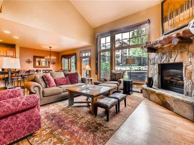 Photo for Beautiful townhome with Gas Fireplace, Private Hot Tub