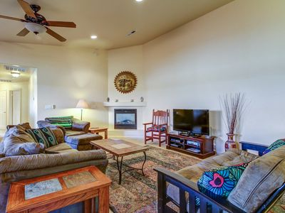 Photo for NEW LISTING! Family-friendly duplex w/private hot tub & shared heated pool