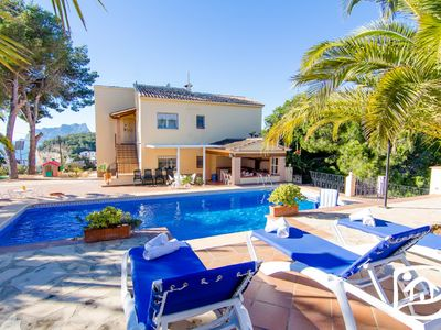 Photo for Saona Villas: Costa Blanca, Moraira, 12 pers., 500 m beach, private pool