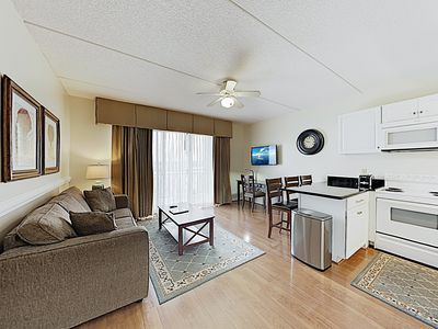 Photo for New Listing! Downtown Riverfront Perch: 5th-Floor Condo w/ Scenic Balcony