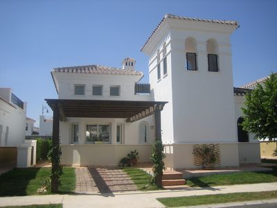 Photo for Superb 2 Bedroom Detached Villa With WIFI & British TV On 5* Golf/Family Resort