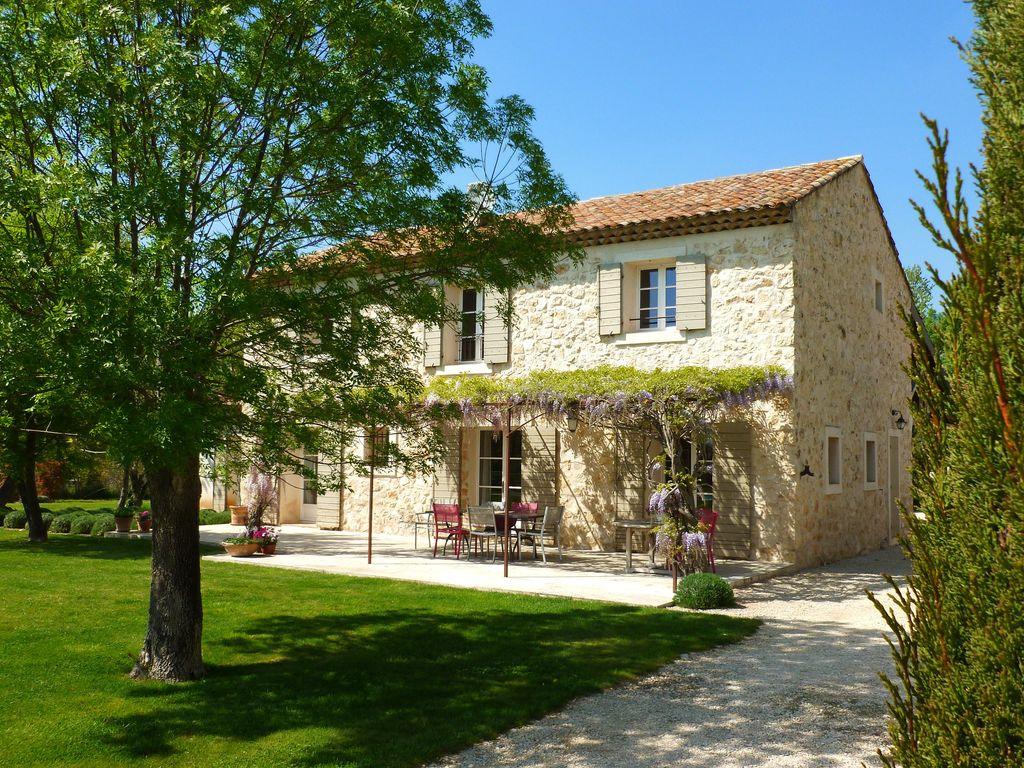 Stone farmhouse in Aix en Provence - Near the Alpilles, ... - 1314311
