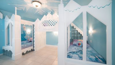 Photo for Frozen Theme Rooms, Splashpad, Movie Theater, Kiddie Pool, Wifi, BBQ Grill