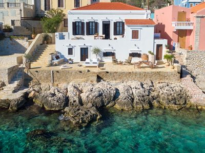 Photo for Halki Sea House, Sea Front Luxury Villa