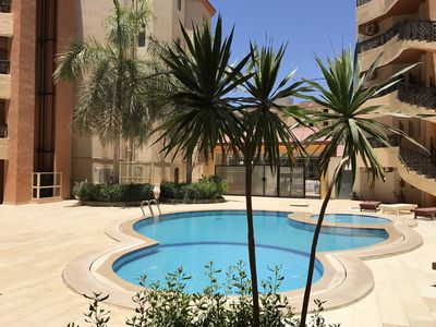 Photo for 1BR Apartment Vacation Rental in El Kawther District, Hurghada, Red Sea Governorate