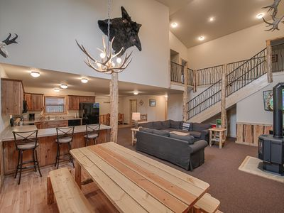 Photo for Teton Townhouse - Sleeps 6 - 12, 5 Blocks from Yellowstone's West Enterance