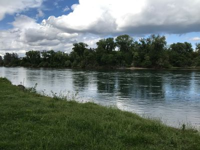 Photo for GORGEOUS River Front Estate on over 1/2 Acre! Like a National Park! Close too