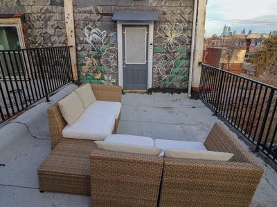 Photo for TheU-BnB Private Roof Deck. Luxury 1 Bedroom, Fully Renovated in University City