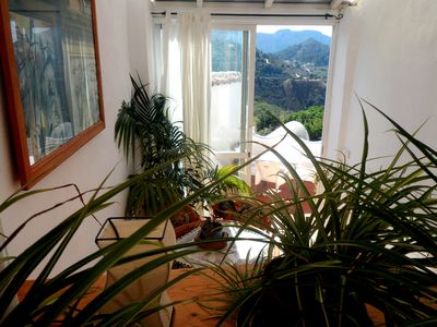 Photo for Delightful house in a quiet rural village with stunning mountain views.