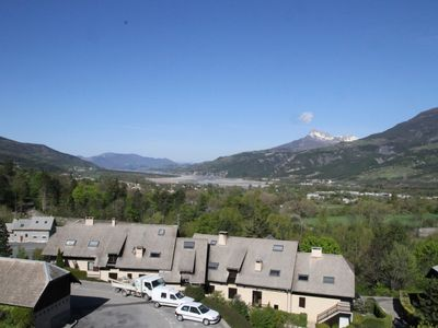 Photo for T2 - 6 beds Embrun stunning views of Lake and needles Chabrieres