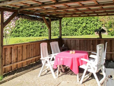 Photo for Vacation home Ferienhaus Waldhüttenzauber (WGT129) in Wingst - 5 persons, 2 bedrooms