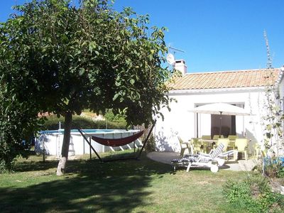 Photo for villa quiet hilaire laugh with private pool near st jean de monts