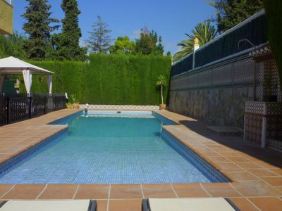 Photo for Holiday home with private pool in the Andalucian village of Padul