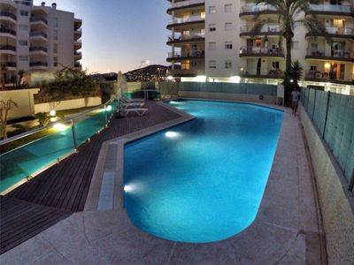 Photo for Ibiza apartment near harbor, beach and Pacha with private pool