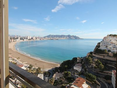 Photo for One bedroom Apartment, sleeps 4 in La Cala de Benidorm with Pool and WiFi