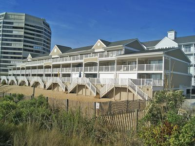Photo for Beachwalk II 12-Oceanfront 86th St, W/D, AC