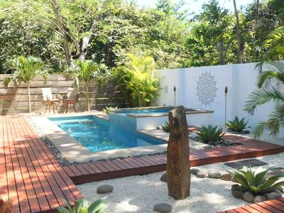 Photo for Tropical Zen Private Paradise | 5 min walk to beach & city center