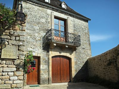 Photo for cozy apartment; near Sarlat with panoramic views and private garden
