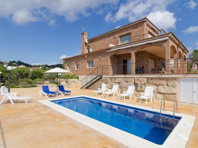 Photo for Club Villamar - Beautiful villa with private swimming pool offers a wonderful view over its surro...