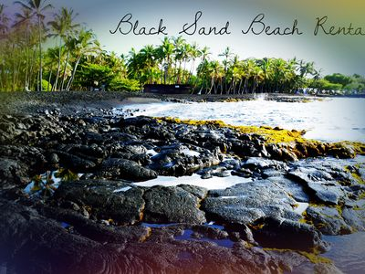 Photo for Black Sand Beach Rental - SeaMountain