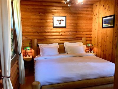 Photo for Cozy Cottage Loon (with luxurious hot tub, stunning wooden interior & lake view)