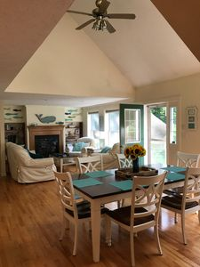 Photo for Sunny, clean Kennebunkport Home -  peaceful setting near Goose Rocks Beach!