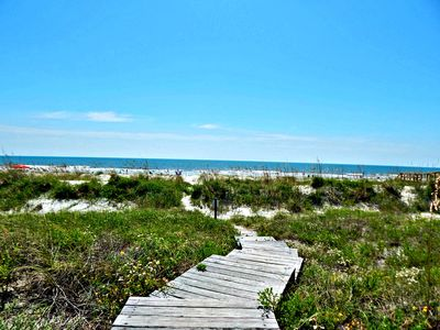Photo for Dustys Dunes ~ Beachfront w/Private Boardwalk