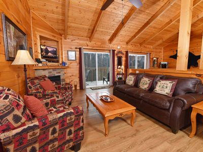 Photo for ⭐️Newly Renovated Cabin⭐️ | Hot Tub, ♛King Bed + More!