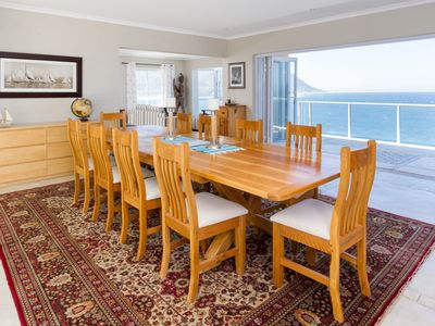 Photo for Cape-x-ta-sea with picture perfect panoramic views of False Bay