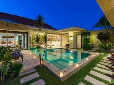 Photo for Modern & Beautiful 3 bedrooms villa with pool Umalas
